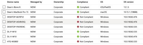 Intune-Compliance